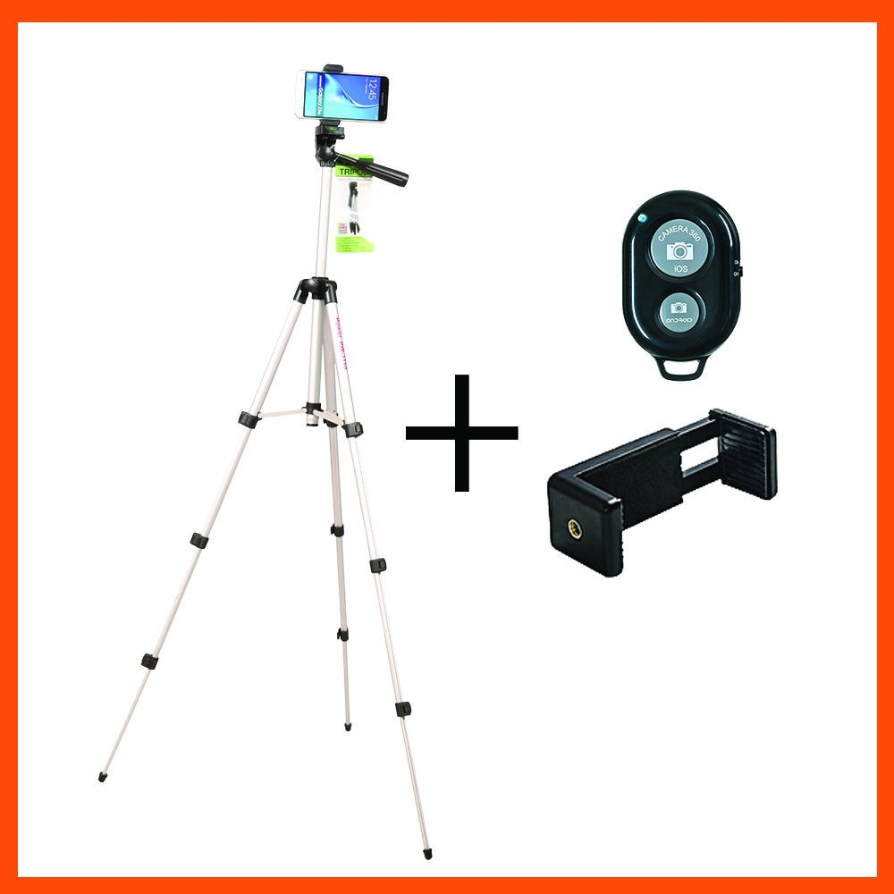 TRIPOD TYPE TR 3110, PHONE MOUNT, BLUETOOTH REMOTE CONTROL
